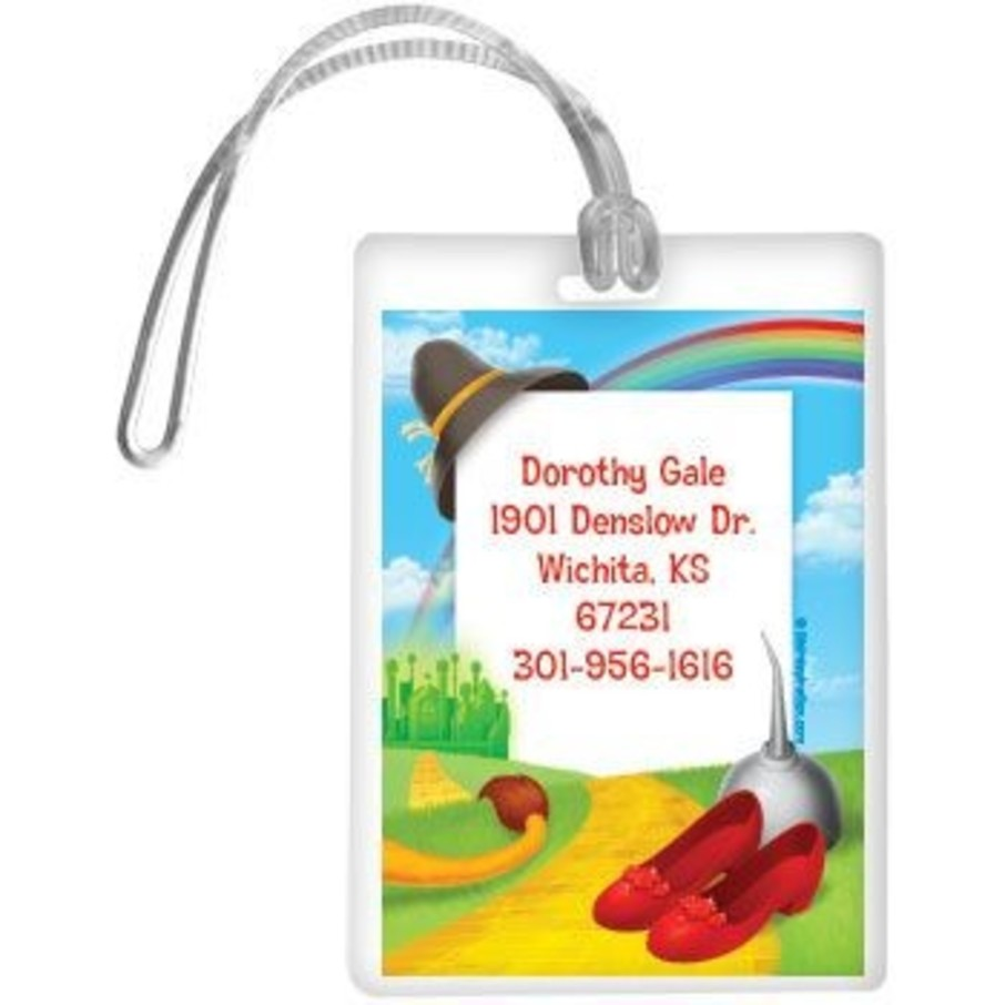 View larger image of Ruby Slippers Personalized Luggage Tag (each)