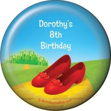 Ruby Slippers Personalized Magnet (each)