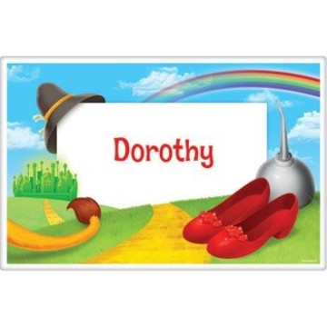 Ruby Slippers Personalized Placemat (each)