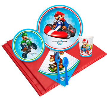 Mario Kart Wii 16 Guest Party Pack