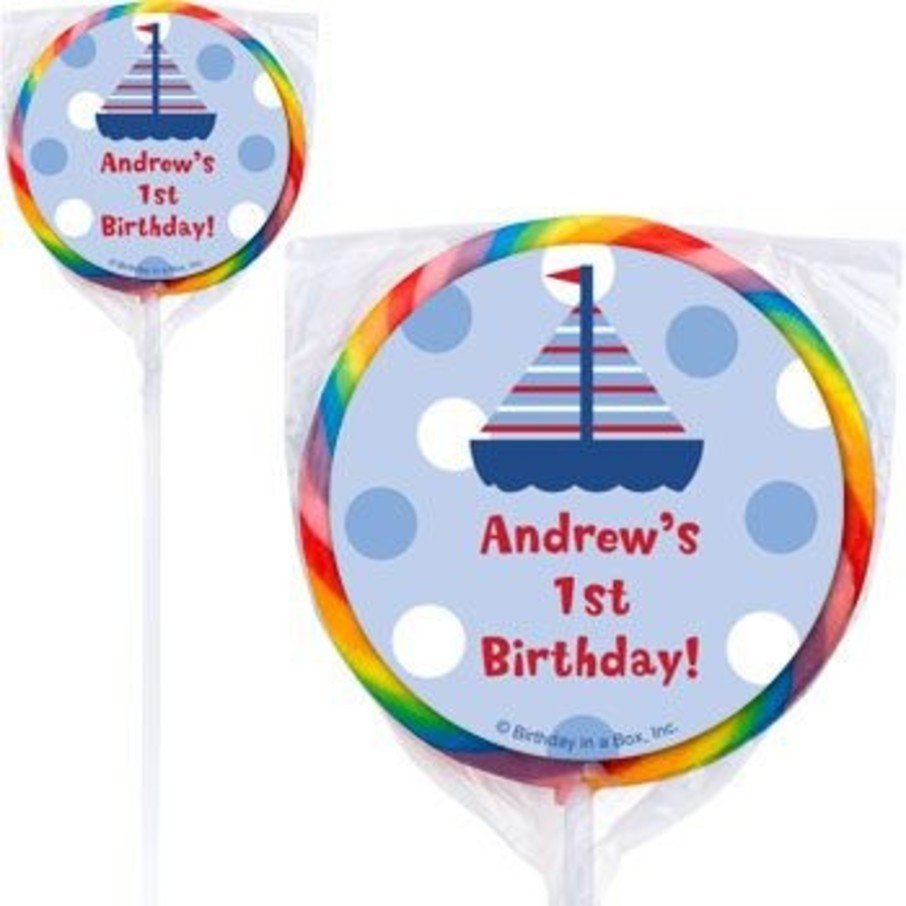 View larger image of Sail Party Personalized Lollipops (pack of 12)