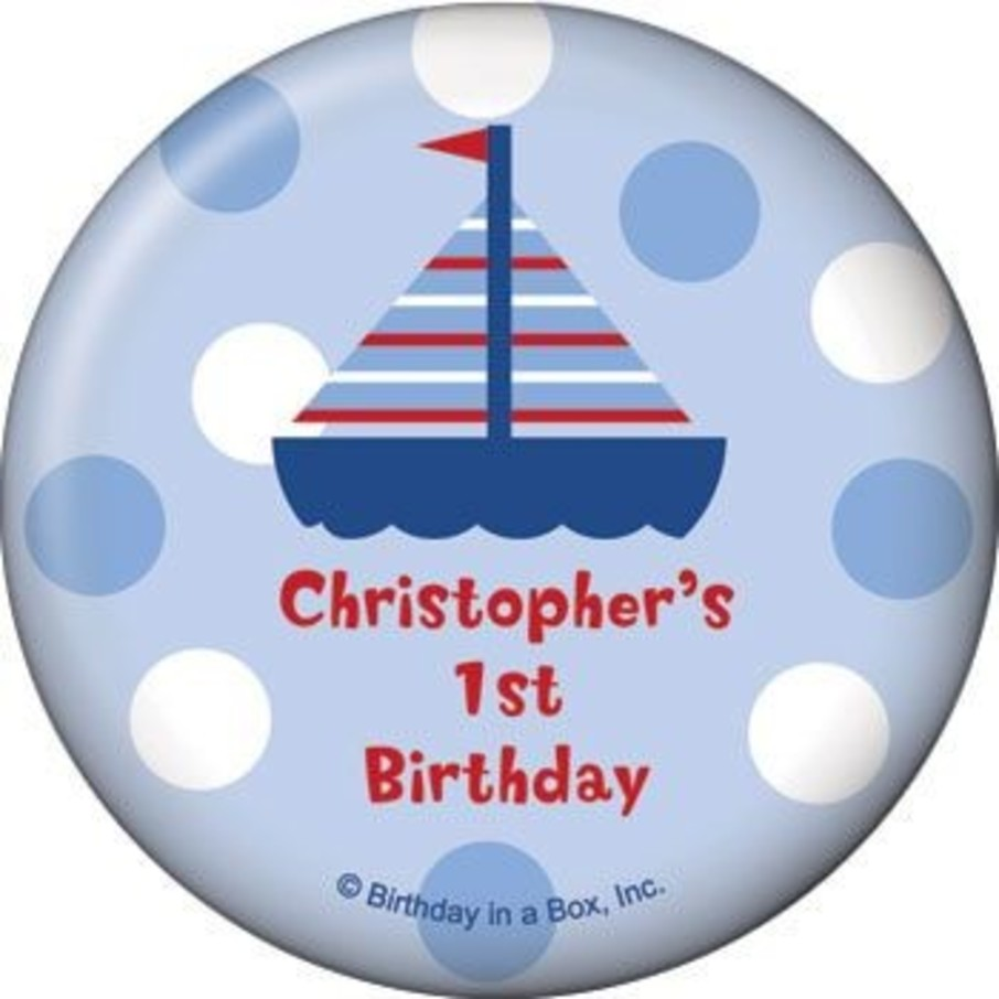View larger image of Sail Party Personalized Magnet (each)