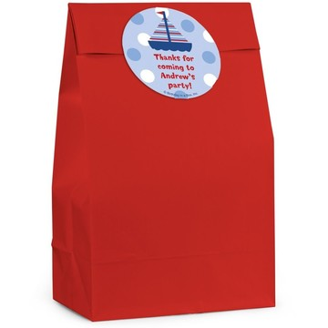 Sail Personalized Favor Bag (Set Of 12)