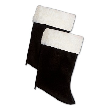 Santa Boot Tops with Fur
