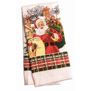 Santa Kitchen Towel (1)