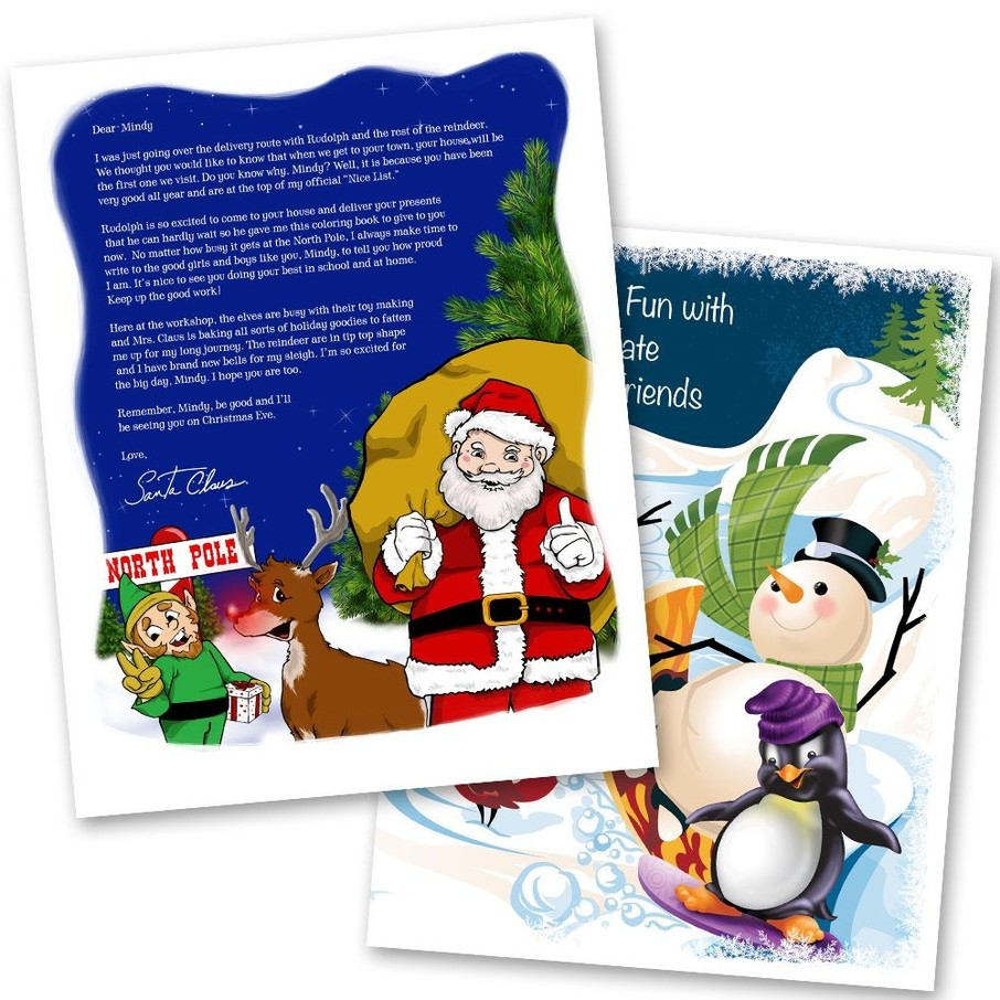 View larger image of Santa's List (Silver)