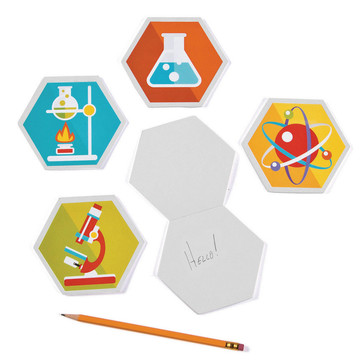 Science Party Laboratory Notepads (12)
