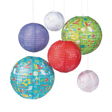 Science Party Paper Lanterns (6)