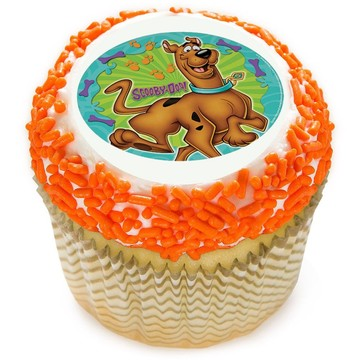 "Scooby Doo 2"" Edible Cupcake Topper (12 Images)"