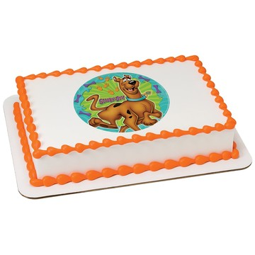 Scooby Doo Quarter Sheet Edible Cake Topper (Each)