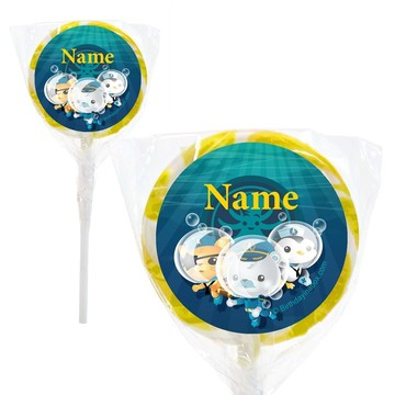 "Sea Explorer Personalized 2"" Lollipops (20 Pack)"