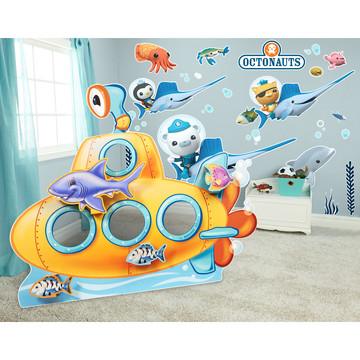 Octonauts Sea Life Giant Wall Decals and Stand-In Kit