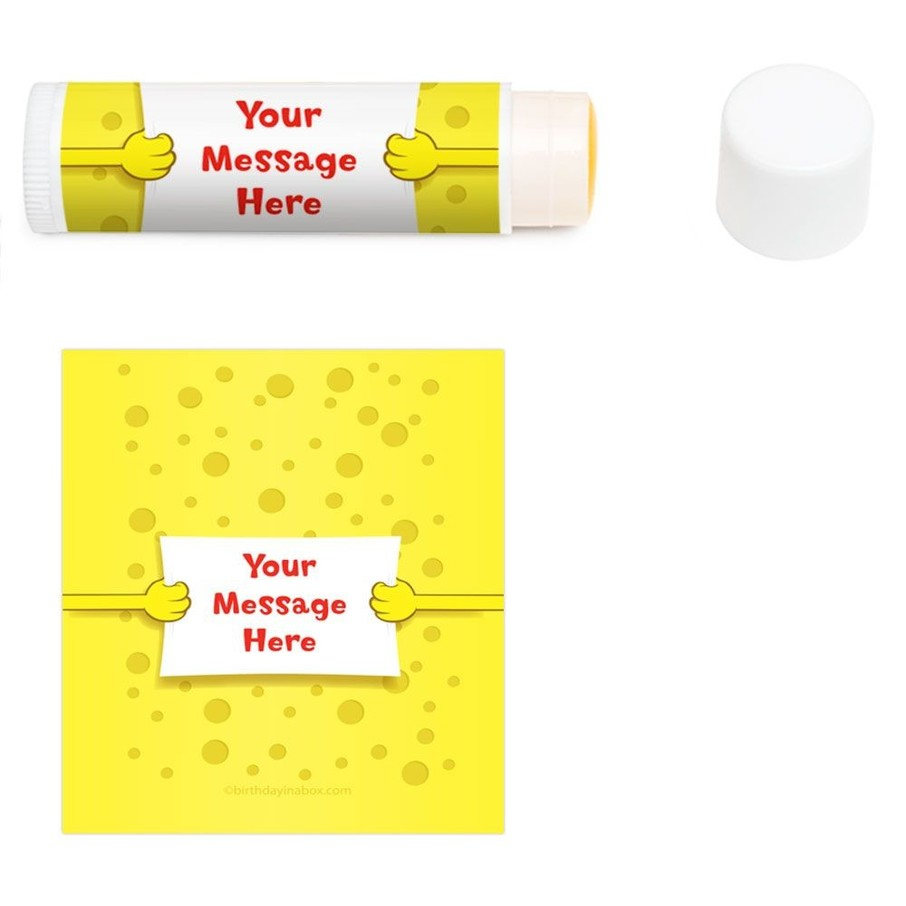 View larger image of Sea Sponge Personalized Lip Balm (12 Pack)