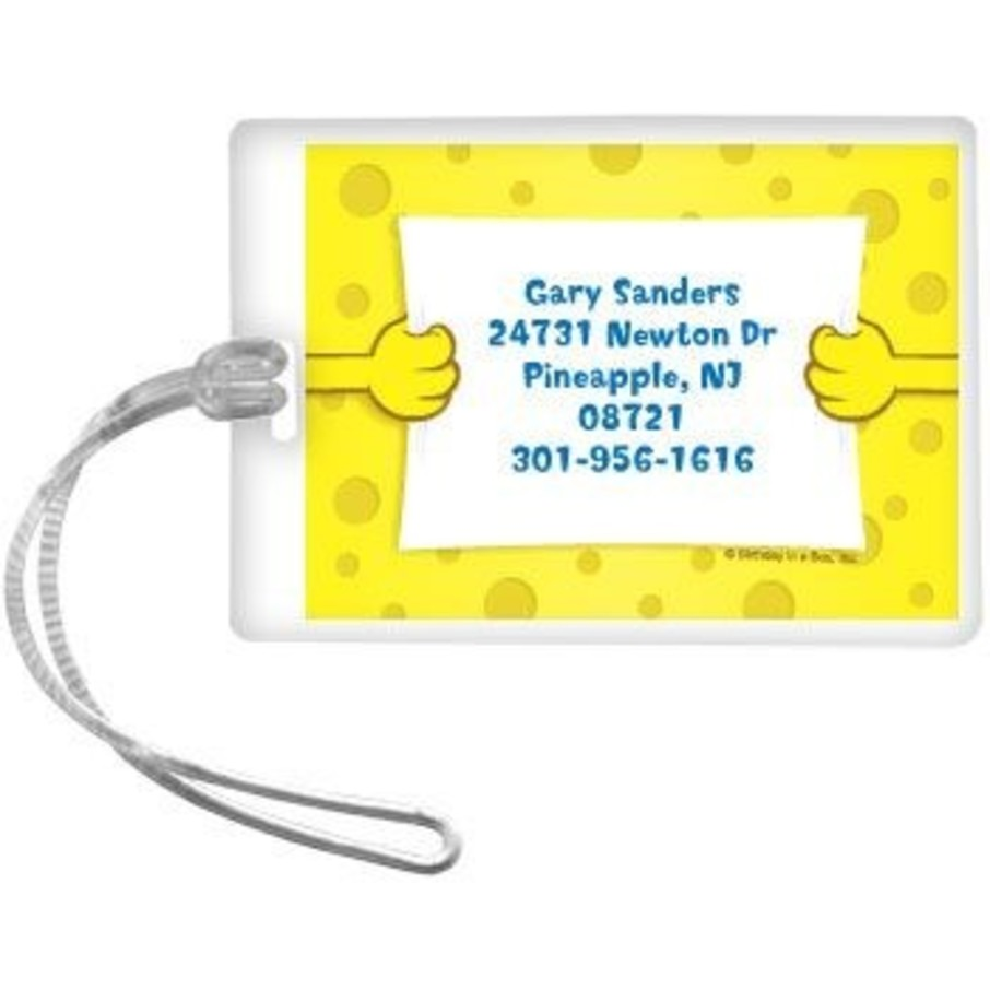 View larger image of Sea Sponge Personalized Luggage Tag (each)