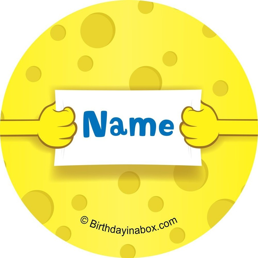 View larger image of Sea Sponge Personalized Mini Stickers (Sheet of 24)