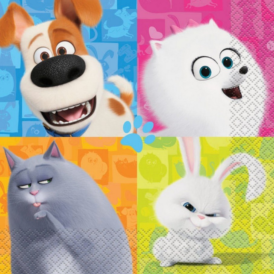 View larger image of Secret Life of Pets 2 Lunch Napkin (16)