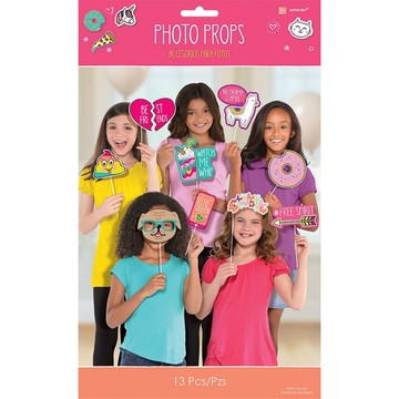 Selfie Celebration Photo Prop Kit
