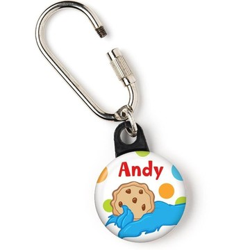"Sesame Friends Personalized 1"" Carabiner (Each)"