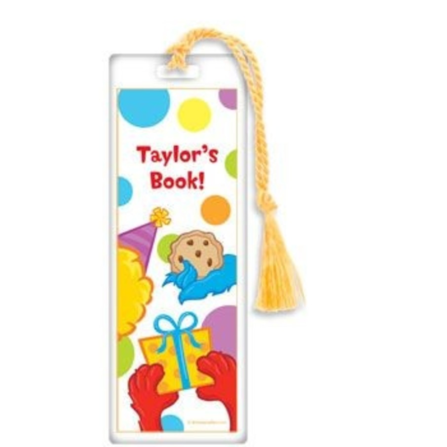 View larger image of Sesame Friends Personalized Bookmark (each)