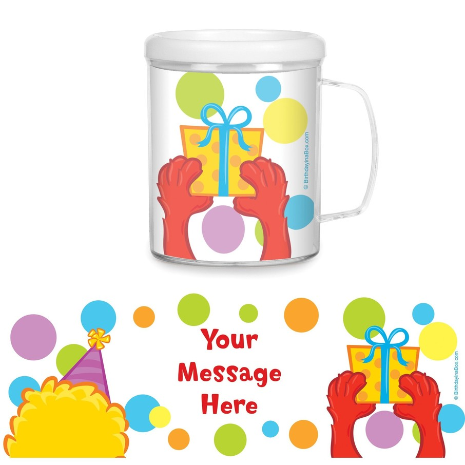 View larger image of Sesame Friends Personalized Favor Mugs (Each)