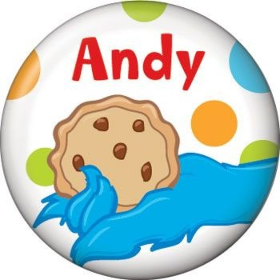View larger image of Sesame Friends Personalized Mini Button (each)
