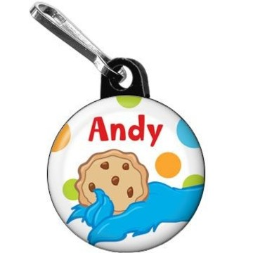 Sesame Friends Personalized Mini Zipper Pull (each)