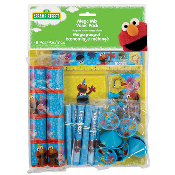 Sesame Street Mega Favor Pack (48 Pieces)