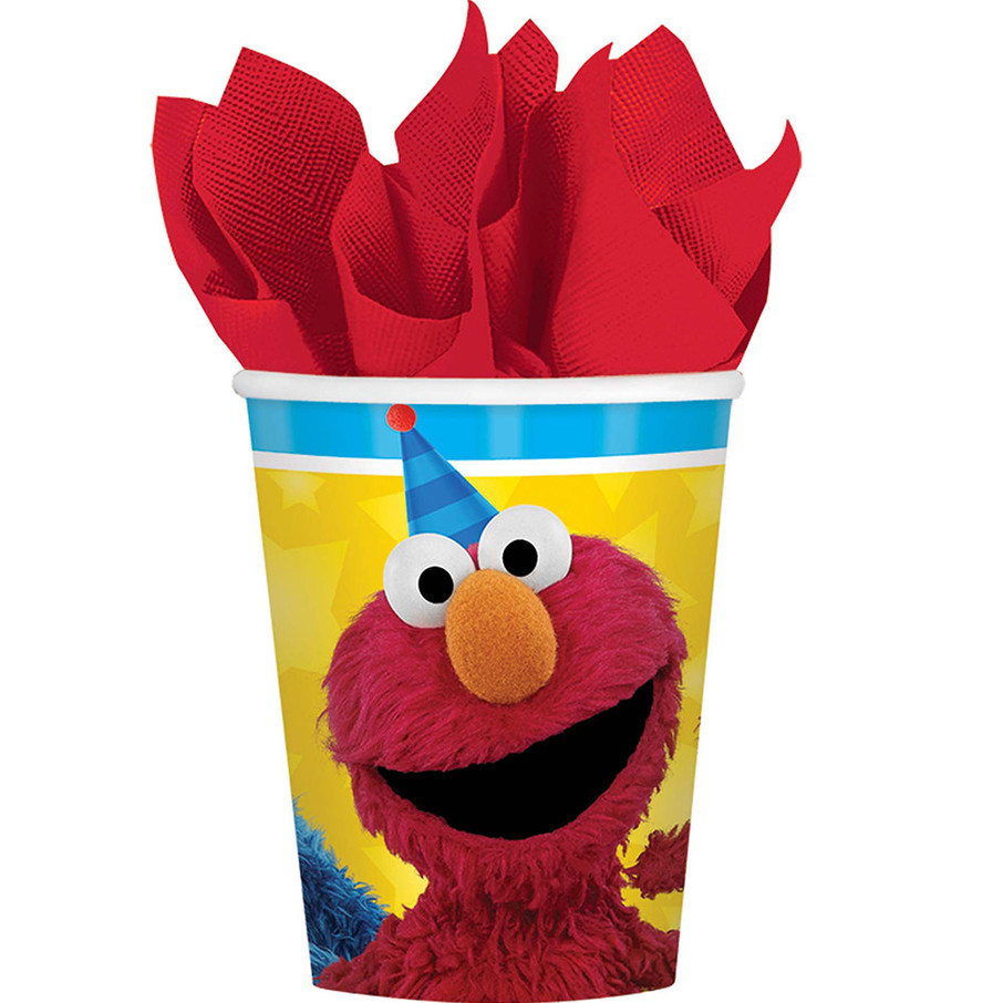 View larger image of Sesame Street Paper 9oz Cups (8 Count)