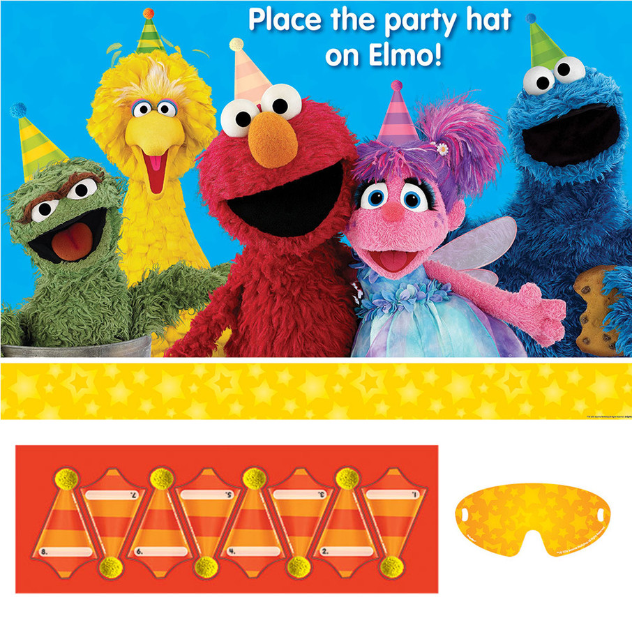 View larger image of Sesame Street Party Game