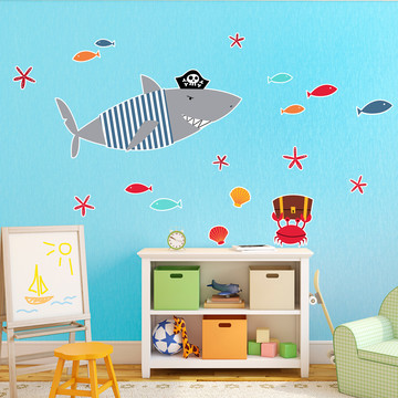 Shark Giant Wall Decal