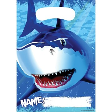 Shark Loot Bags (8-pack)