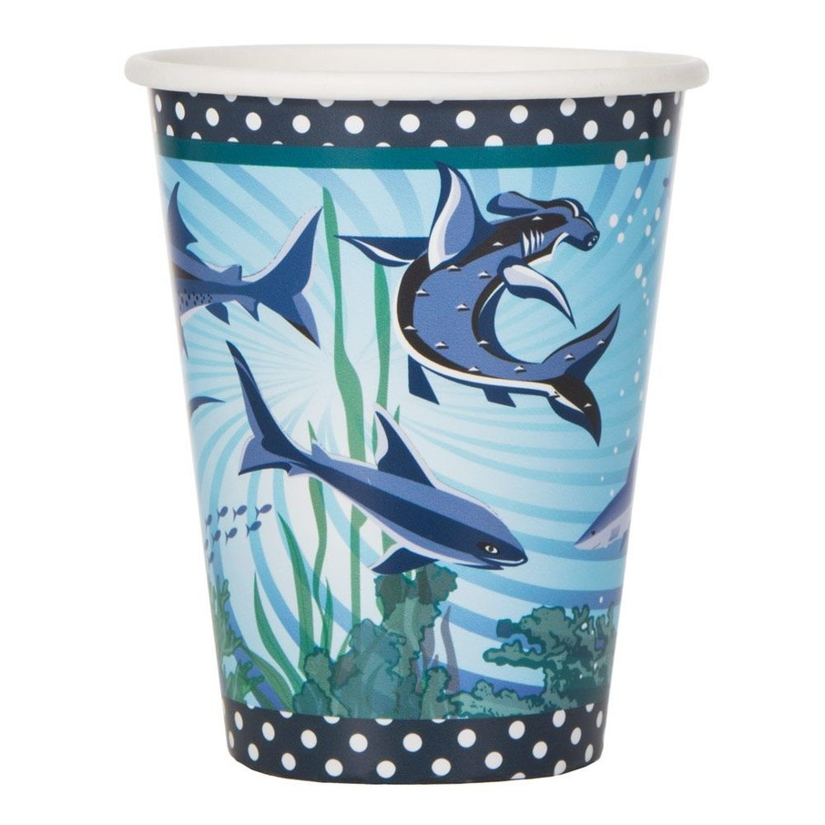 View larger image of Shark Party 9oz Cups (8 Pack)