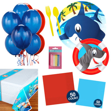 Shark Party Essentials Kit , Serves 16