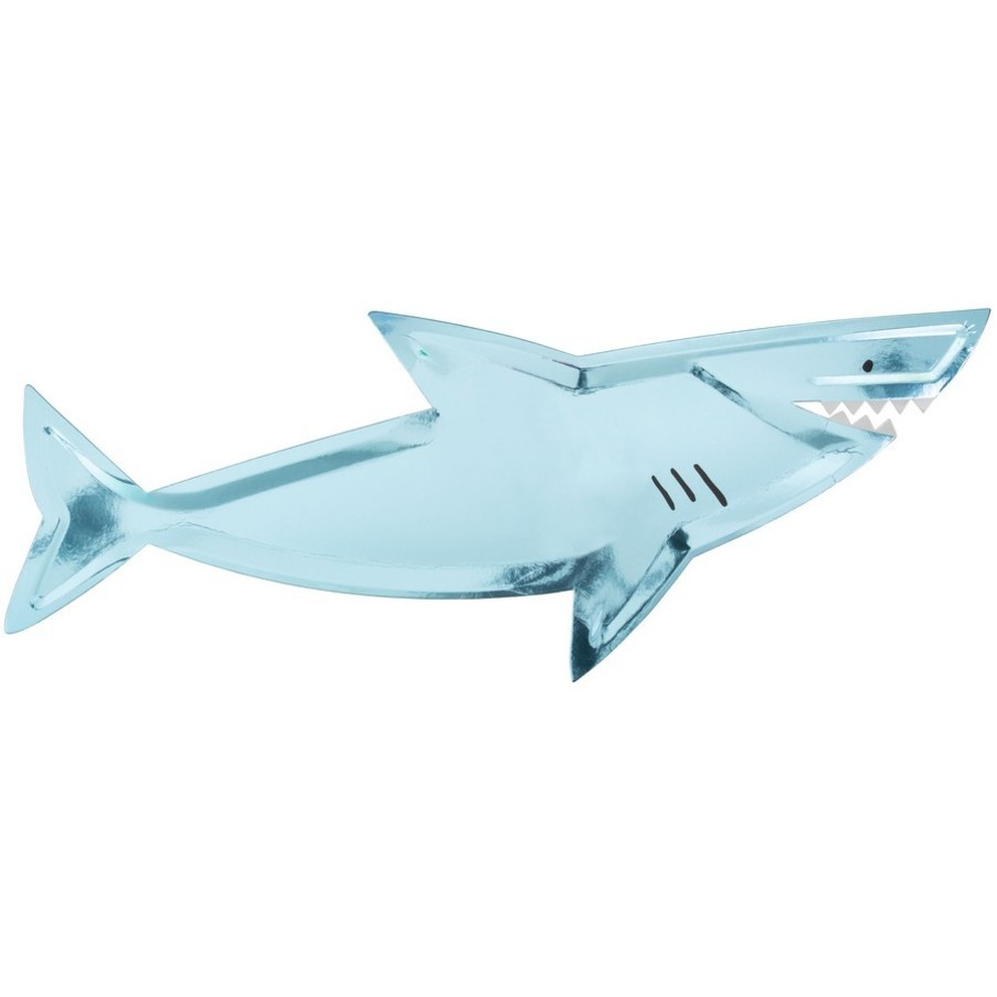 View larger image of Shark Shaped Plates, 4ct