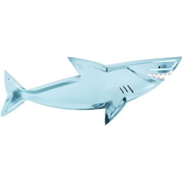 Shark Shaped Plates, 4ct