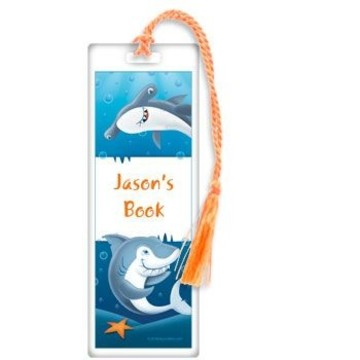 Sharks Personalized Bookmark (each)