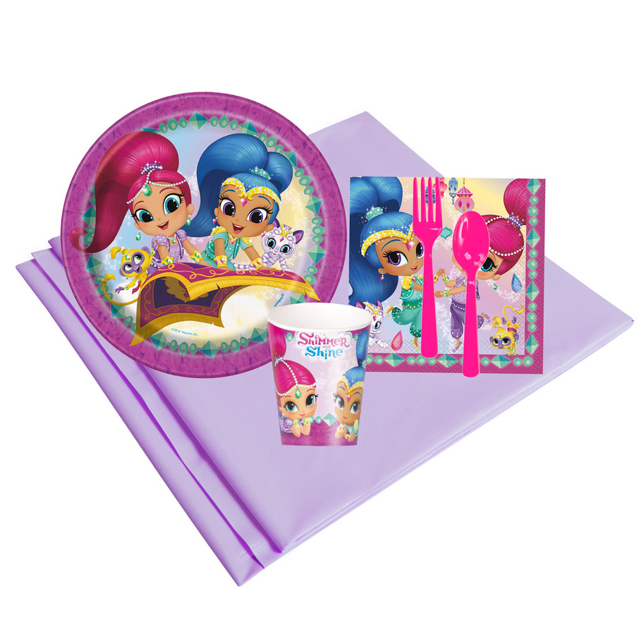 View larger image of Shimmer and Shine 8 Guest Party Pack