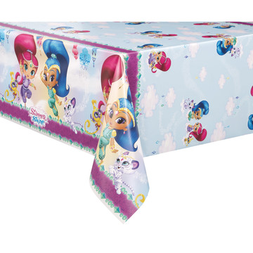 Shimmer and Shine Plastic Table Cover