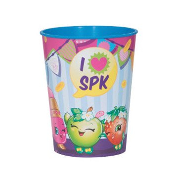 Shopkins 16oz. Plastic Favor Cup (Each)