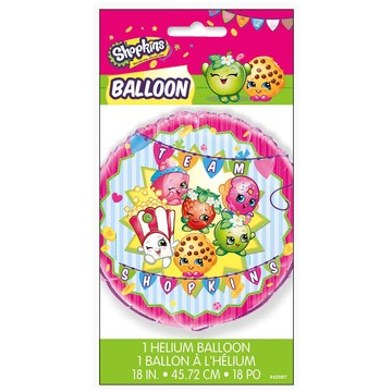 "Shopkins 18"" Round Foil Balloon"
