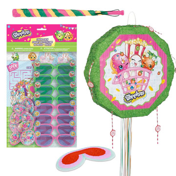 Shopkins Deluxe Drum Pull Pinata Kit
