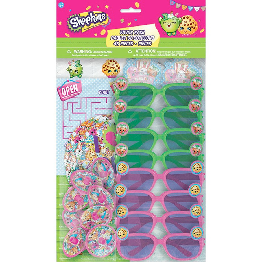 View larger image of Shopkins Favor Pack (48 Pieces)
