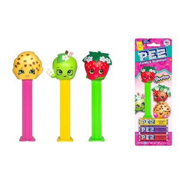 Shopkins Pez Dispenser and Candy Set (Each)