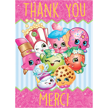Shopkins Thank Yous (8 Count)