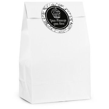 Signature Birthday Personalized Favor Bag (12 Pack)