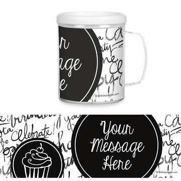 Signature Birthday Personalized Favor Mug (Each)