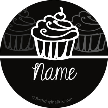 Signature Birthday Personalized Mini Stickers (Sheet of 24)