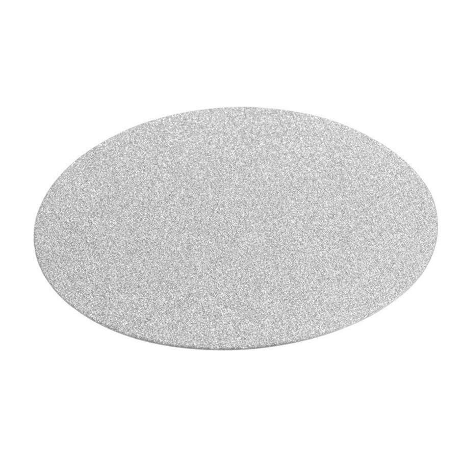 View larger image of Silver Diamond Glitter Coasters (12 Count)