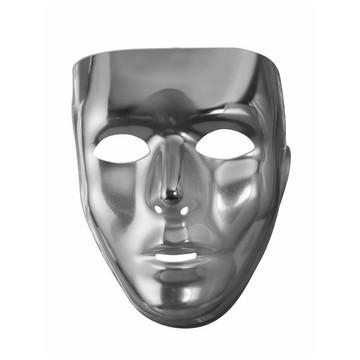 Silver Full Face Mask