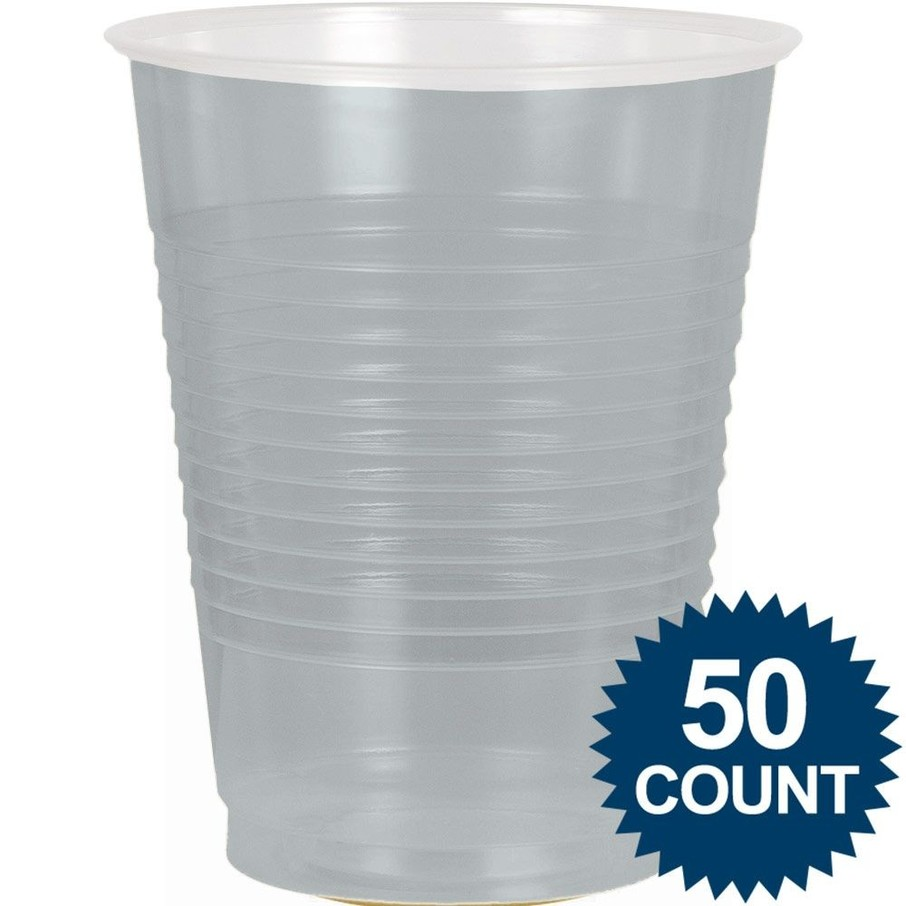 View larger image of Silver Plastic 16Oz. Cup (50 Pack)